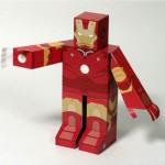 Iron Man paper toys2