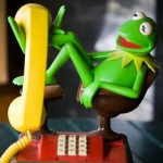 Kermit Frog Phone