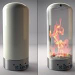 Magical Transparent Fireplace