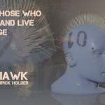 Mohawk Toothpick Holder