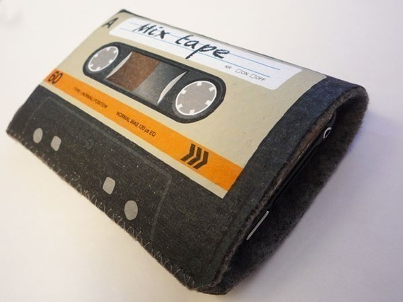 Orange Cassette Tape iPhone Case 1