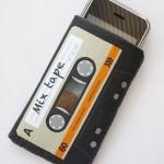 Orange Cassette Tape iPhone Case 3