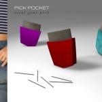 Pick Pocket Toothpick Holder