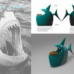 Shark Tooth Toothpick Holder