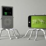 Spiderpodium iPhone Stand