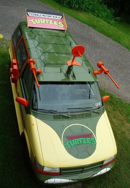 Real Life Teenage Mutant Ninja Turtles Van 5f0713bc3175