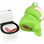 The Frog's Butt Paper Clip Holder