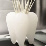 Tooth Toothpick Holder