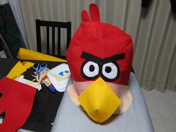 angry birds game collection cake design 1