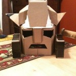 bumblebee transformer cardboard head