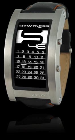 Phosphor Calendar Display