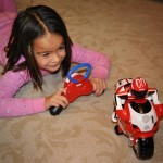 Ducati RC Motorcycle In Use