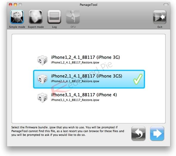 iphone 3gs jailbreak Redsn0w-0.9.6b5-6