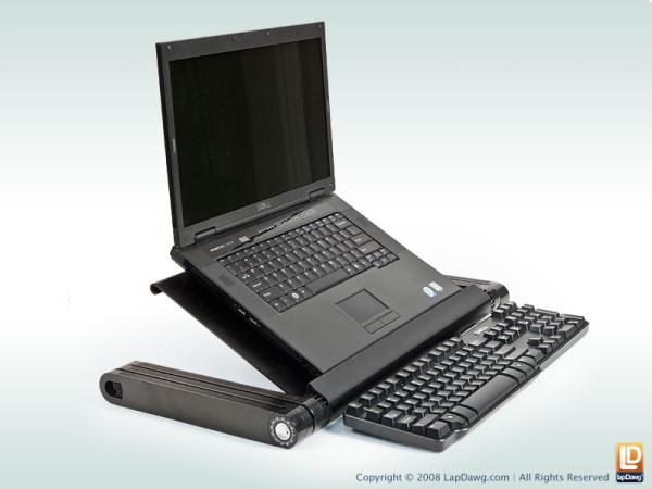 laptop stand lapdawg x4 gadget