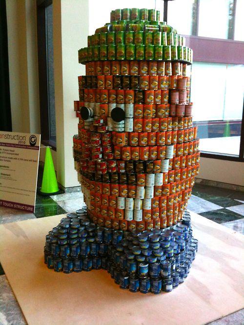 mr potato head soup cans art