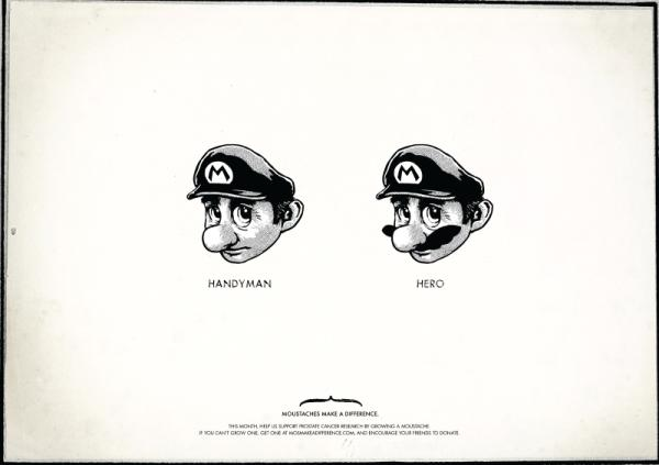 mustache design super mario bros