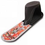 seated sled board