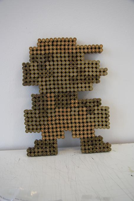 super mario bros art bullets