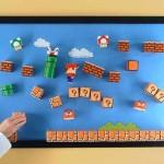super mario magnet board