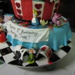 wonderland cake 3