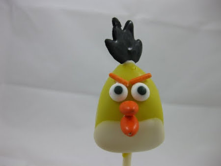 Angry Birds Cake Pops 2