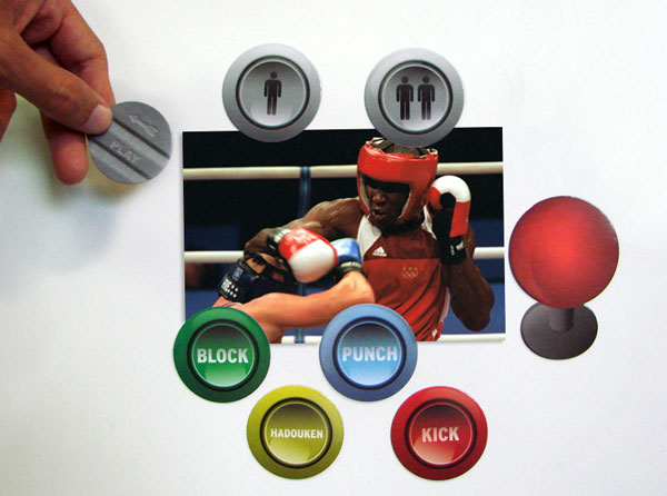 Arcade Button Magnets 2