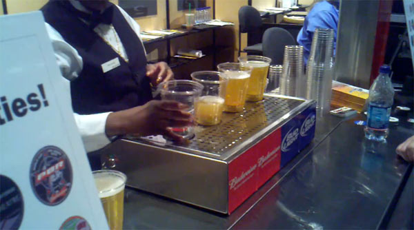 Bottoms-Up-Beer-Server
