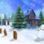 Christmas wallpapers art 9