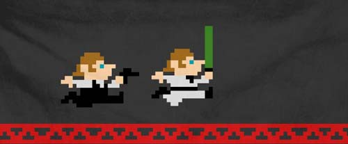 han and luke 8-bit