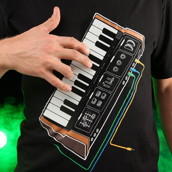 Electronic Music Synthesizer T-Shirt 1