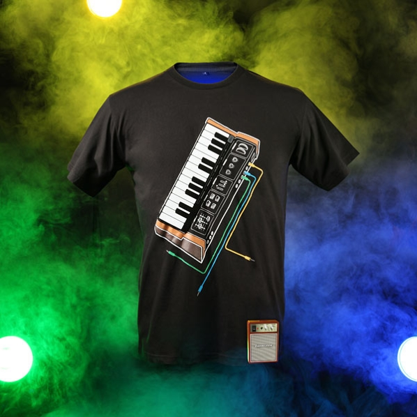 Electronic Music Synthesizer T-Shirt 3