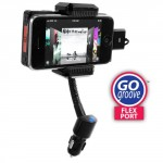 GOgroove FlexPort+ Car Mount System Hi-Fi FM Transmitter and Charger