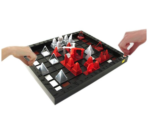 Khet Board Game In Action