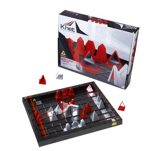 Khet Board Game and Box