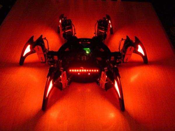 Lynxmotion CH3-R Hexapod Robot