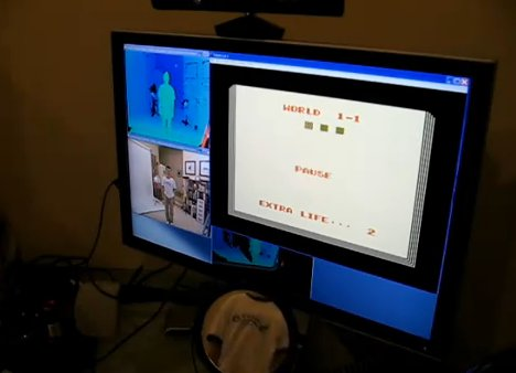 Mario Kinect Hack World Beginning
