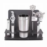 Oggi Pro Cocktail Shaker and Bar Tool Set