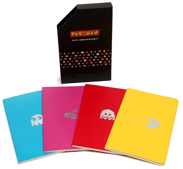 Pac-Man Moleskine Set
