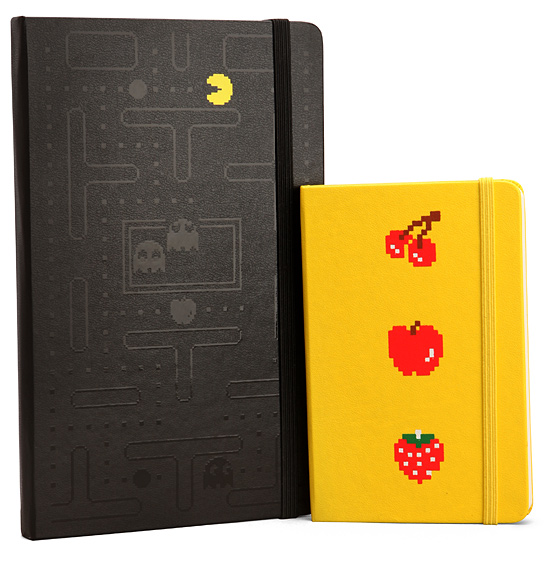 Pac-Man Moleskine Set
