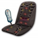 Relaxzen Six Motor Massage Cushion with Heat and Eight Magnets