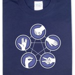 Rock Paper Scissors Lizard Spock T-shirt 1