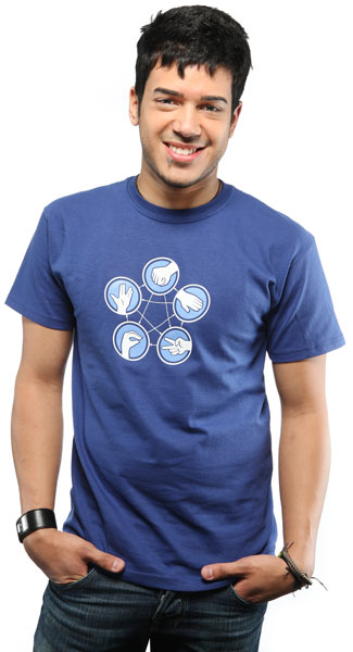 Rock Paper Scissors Lizard Spock T-shirt 2