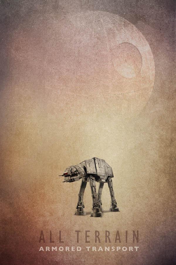 Star Wars AT-AT Poster 2