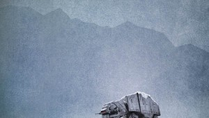 Star Wars AT-AT Poster
