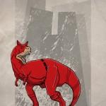 Superhero Dinosaur – Carnotaurus Daredevil