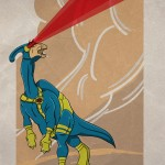 Superhero Dinosaur – Parasaurolophus Cyclops