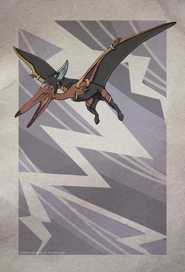 Superhero Dinosaur - Pteranodon Storm