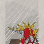 Superhero Dinosaur - Stegosaurus Colossus