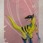 Superhero Dinosaur – Velociraptor Wolverine