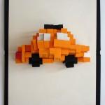 Taxi Cab Pop-Up Book